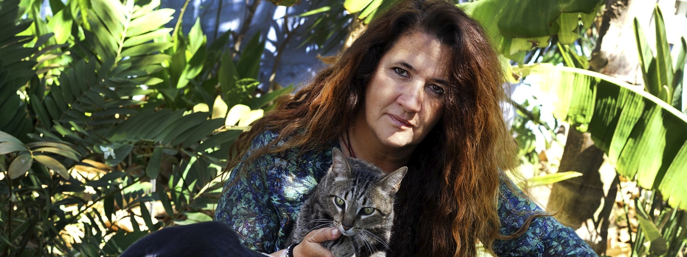 Amparo Requena, presidenta de Abogados Valencianos en Defensa Animal.