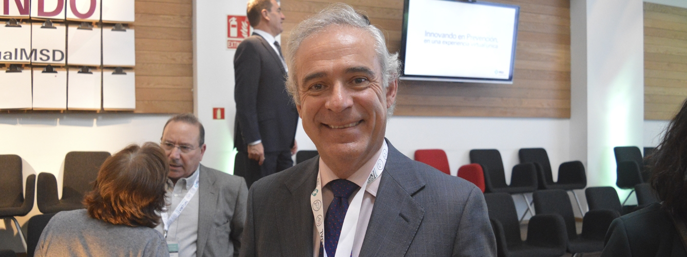 Juan Carlos Castillejo, director general de MSD Animal Health en España y Portugal.